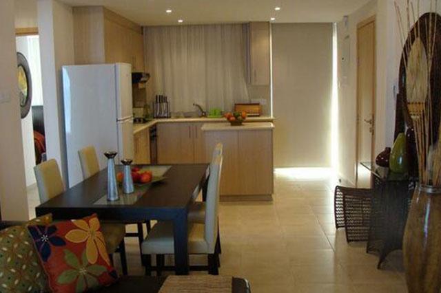 wedding restaurant cyprus pernera protaras polyxenia isaak cafeteria.jpg_0011_2 dining room & kitchen apartment 2